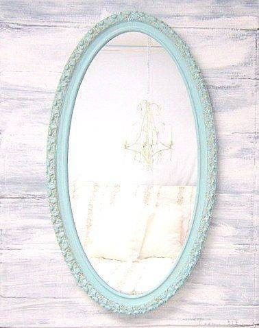 142 Best Decorative Ornate Antique & Vintage Mirrors For Sale Inside Long Oval Mirrors (#3 of 30)