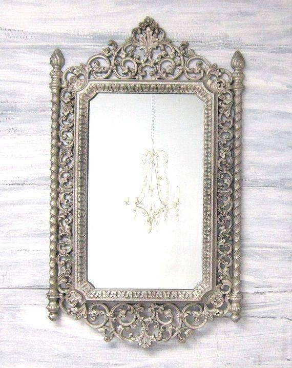 142 Best Decorative Ornate Antique & Vintage Mirrors For Sale Throughout Buy Vintage Mirrors (View 5 of 20)