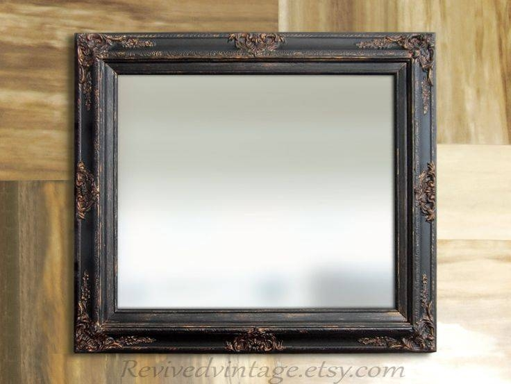 142 Best Decorative Ornate Antique & Vintage Mirrors For Sale Within Antique Mirrors For Bathrooms (View 20 of 20)