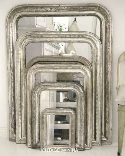 142 Best French Style Louis Philippe Mirrors Are Available At Www With Vintage French Mirrors (#2 of 30)