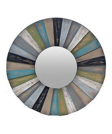 142 Best Mirrors Images On Pinterest | Mirror Mirror, Wall Mirrors In Blue Round Mirrors (View 24 of 30)
