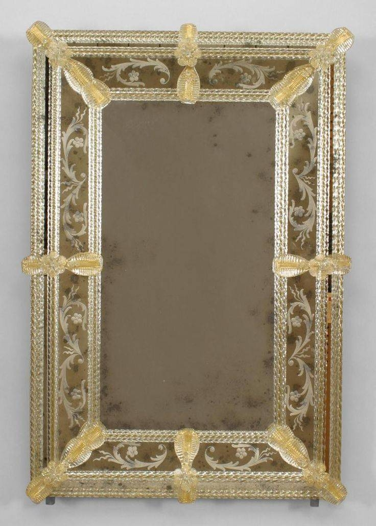 142 Best Venetian Images On Pinterest | Venetian, Venetian Mirrors Regarding Venetian Etched Glass Mirrors (View 4 of 20)