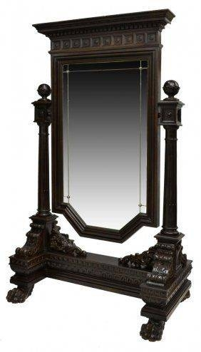 143 Best Mirrors Images On Pinterest | Antique Furniture, Antique Intended For Victorian Standing Mirrors (View 1 of 30)