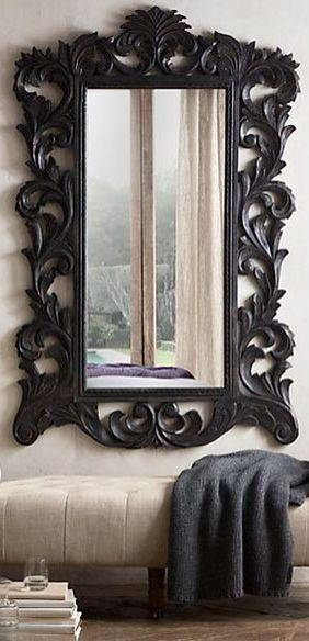 144 Best Decor: Mirrors Images On Pinterest | Mirror Mirror Intended For Large Gold Antique Mirrors (#3 of 30)