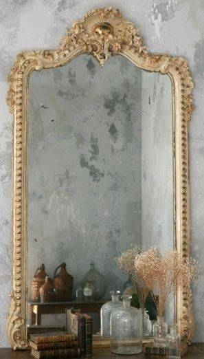 144 Best Decor: Mirrors Images On Pinterest | Mirror Mirror Pertaining To Grey Vintage Mirrors (#3 of 20)