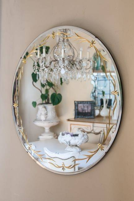 144 Best Mirrors Images On Pinterest   Mirror Mirror, Mirrors And With Large Round Gold Mirrors (View 4 of 30)