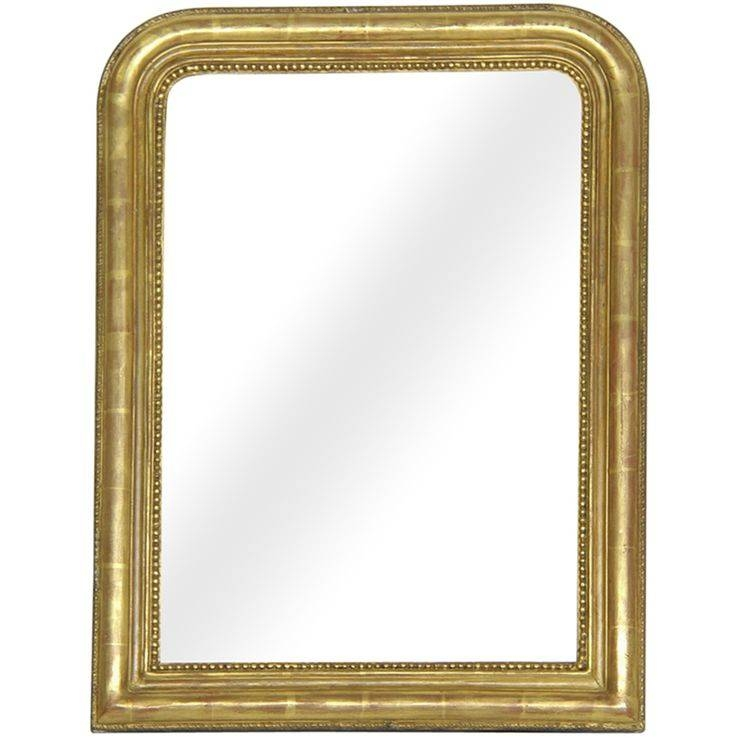 146 Best Antique Mirrors Images On Pinterest | Antique Mirrors For Gold Gilt Mirrors (#2 of 20)