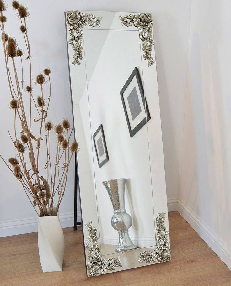 15 Best Cheval/free Standing Mirrors Images On Pinterest | Cheval In Silver Free Standing Mirrors (View 8 of 20)