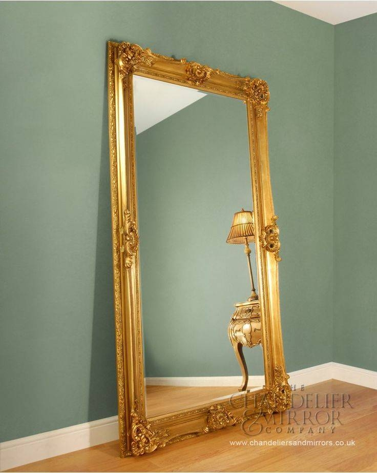 15 Best Hall Mirror Images On Pinterest | Large Mirrors, Wall In Large Gold Ornate Mirrors (View 3 of 30)