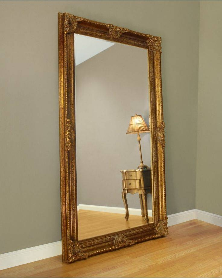 30 collection of large gold ornate mirrors