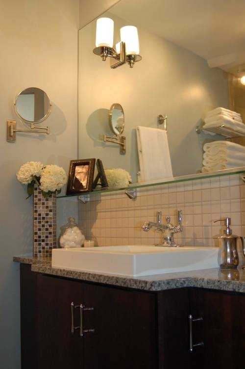 15 Best Hotel Style Decorating ~ Bathroom & Dressing Images On Within Hotel Inspired Mirrors (#1 of 15)