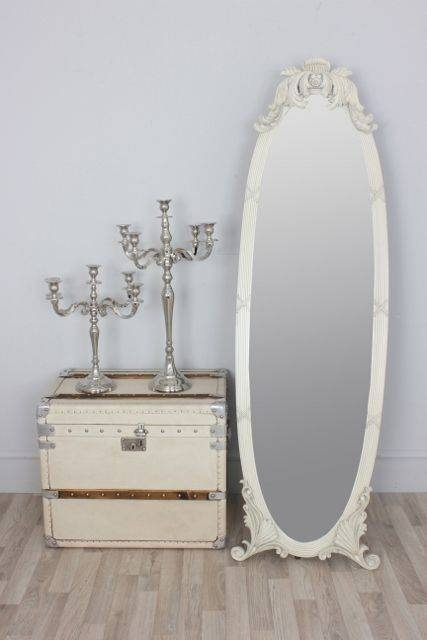 15 Best Mirror Image Images On Pinterest | Mirror Image, Dressing Pertaining To Free Standing Shabby Chic Mirrors (#2 of 15)