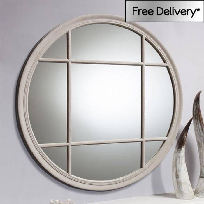 15 Best Window Mirrors Images On Pinterest | Window Mirror, Wall Regarding Distressed Cream Mirrors (#1 of 30)