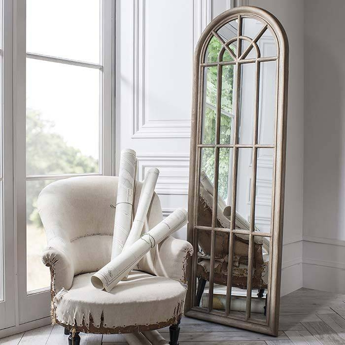 15 Best Window Mirrors Images On Pinterest | Window Mirror, Wall With Shabby Chic Window Mirrors (View 14 of 20)