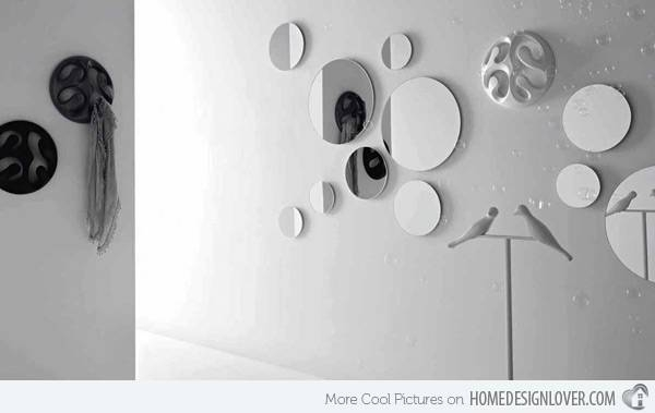 15 Fascinating And Exceptional Modern Mirror Designs | Home Design Regarding Large Bubble Mirrors (View 3 of 30)