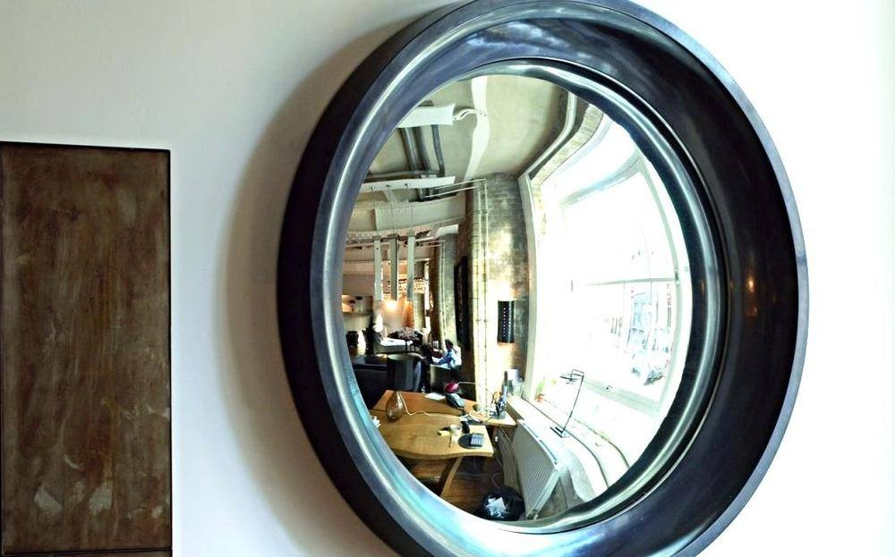 15 Interiors Turned Abstract Wall Arta Convex Mirror — Designed Intended For Convex Wall Mirrors (#2 of 30)
