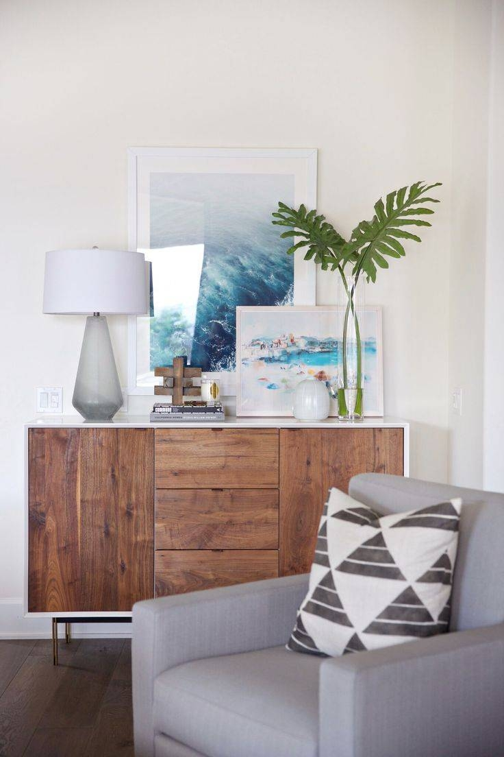 150 Best Sideboard Styling Images On Pinterest | Live, Home And Spaces Regarding Modern Living Room Sideboards (#1 of 20)