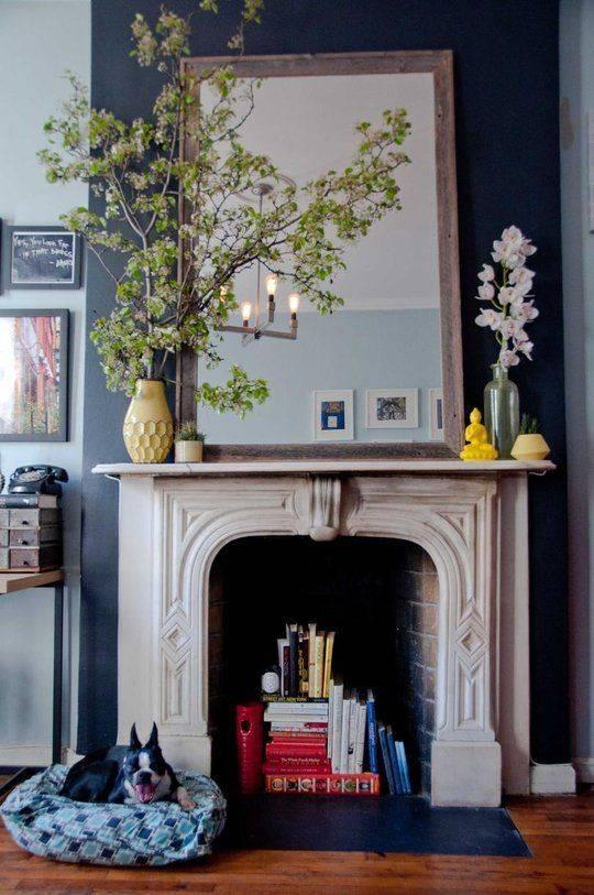 151 Best Mirror & Mantle Images On Pinterest | Fireplace Mantels Regarding Mantelpiece Mirrors (View 21 of 30)