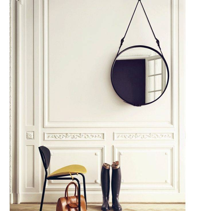 152 Best Mirrors & Frames Images On Pinterest | Wall Mirrors Inside Leather Mirrors (#1 of 20)