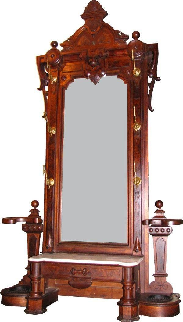 1524 Best Mirrors Images On Pinterest | Antique Mirrors, Antique Intended For Victorian Style Mirrors (View 29 of 30)
