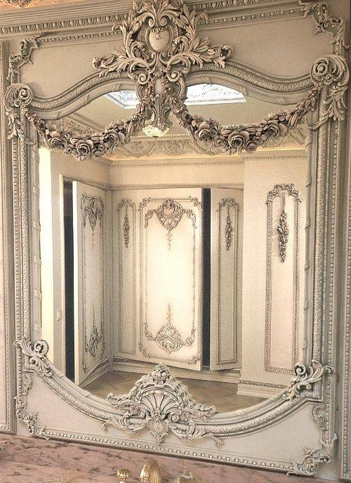 153 Best Lounge – French Images On Pinterest | Lounges, Mirror In Vintage French Mirrors (#3 of 30)