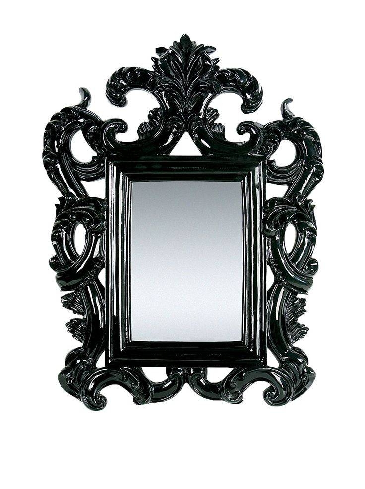 155 Best Baroque And Rococo Design Images On Pinterest | Baroque Pertaining To Black Rococo Mirrors (#2 of 30)