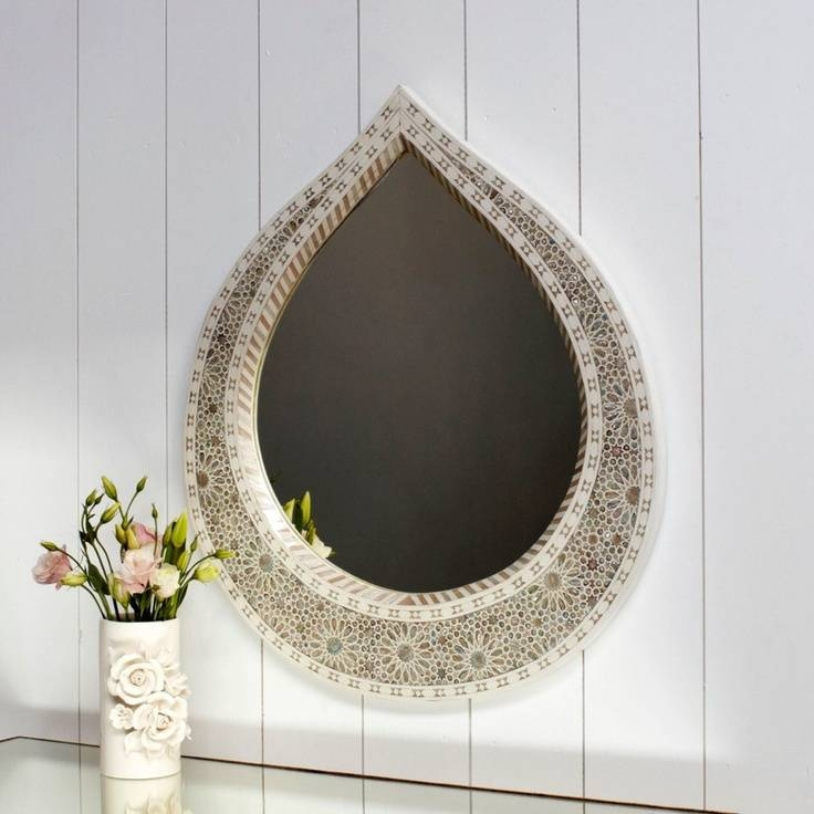 155 Best Mirror Styles Images On Pinterest | Mirror Mirror Throughout Mother Of Pearl Wall Mirrors (#1 of 30)
