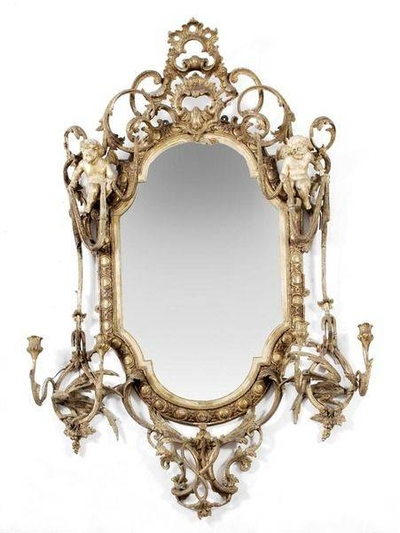 1590 Best Mirrors Images On Pinterest | Mirror Mirror, Antique With Elaborate Mirrors (#4 of 30)