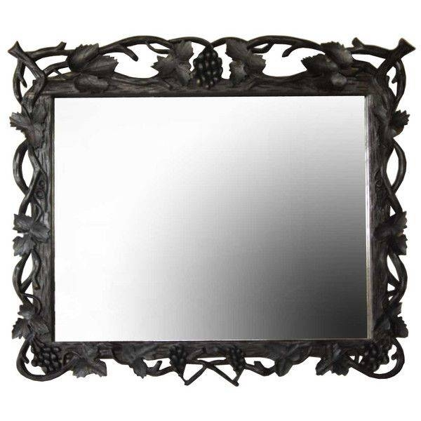 1590 Best Mirrors Images On Pinterest | Mirror Mirror, Antique Within Black Antique Mirrors (View 5 of 30)