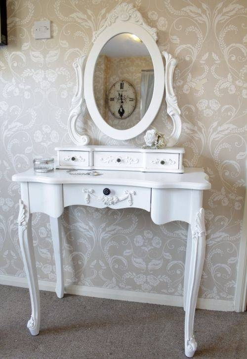 16 Best Dressing Table Images On Pinterest   Bedrooms, Home And For Cheap French Style Mirrors (View 7 of 30)