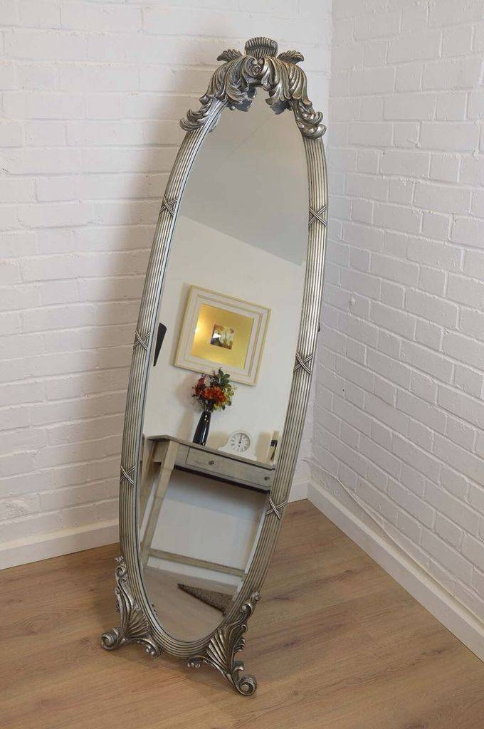 16 Best Mirrors Images On Pinterest | Antique Silver, Wall Mirrors Intended For Silver Cheval Mirrors (#2 of 20)