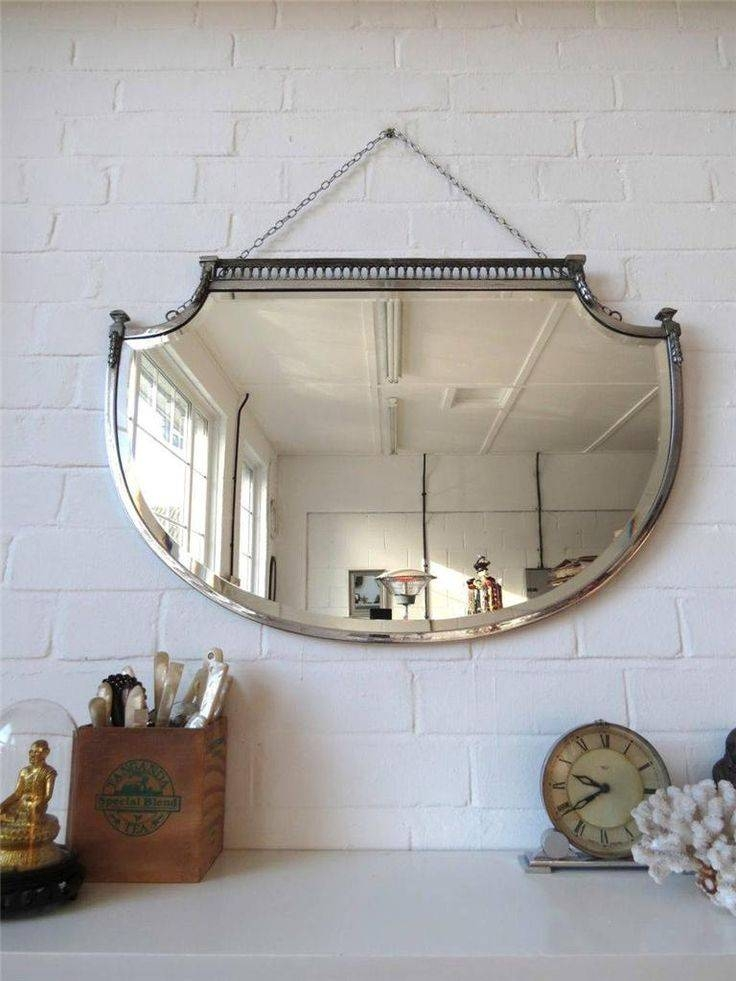 16 Best Mirrors Images On Pinterest | Mirror Mirror, Art Deco For Vintage Bevelled Edge Mirrors (#1 of 30)
