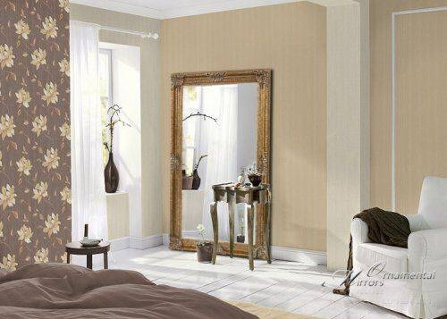 16 Best Mirrors Images On Pinterest | Overmantle Mirror, Mirror Throughout Extra Large Gold Mirrors (View 13 of 15)