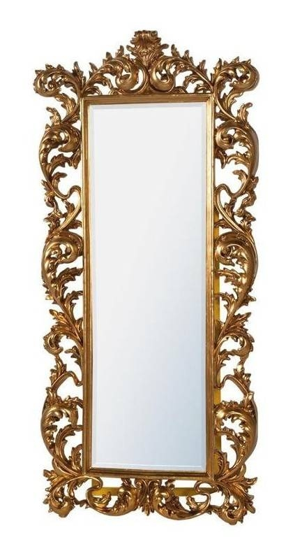 16 Ornate Mirrors For Your Home | Qosy Within Gold Standing Mirrors (#4 of 30)