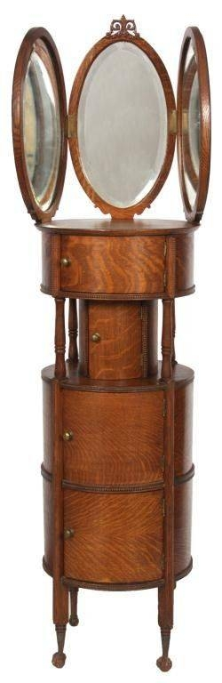160 Best Antique Shaving Stand Images On Pinterest | Shaving Stand For Antique Oak Mirrors (#1 of 20)