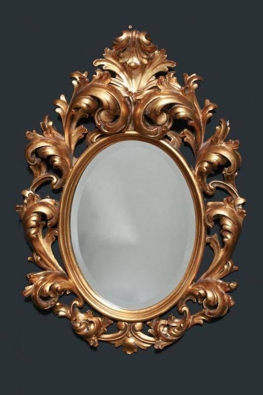 161 Best Mirror Images On Pinterest   Mirror Mirror, Antique With Regard To French Rococo Mirrors (#1 of 15)