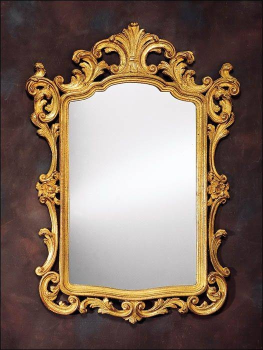 163 Best Mirrors Images On Pinterest | Mirror Mirror, Antique Inside Vintage Gold Mirrors (#4 of 30)