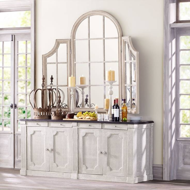 169 Best Mirror Mirror On The Wall Images On Pinterest | Mirror Pertaining To White Arched Window Mirrors (#2 of 20)