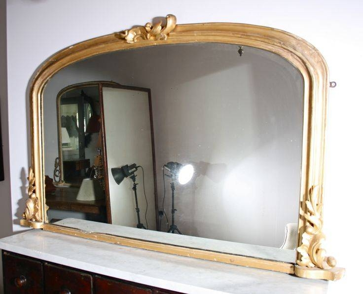 17 Best Georgian Gilded Overmantle Mirrors Images On Pinterest Throughout Gold Mantle Mirrors (#3 of 30)