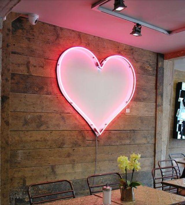 17 Best Lighting: Light Strands, Wall Decor & Other Non Lamp Lit Within Heart Shaped Mirrors For Wall (#2 of 20)