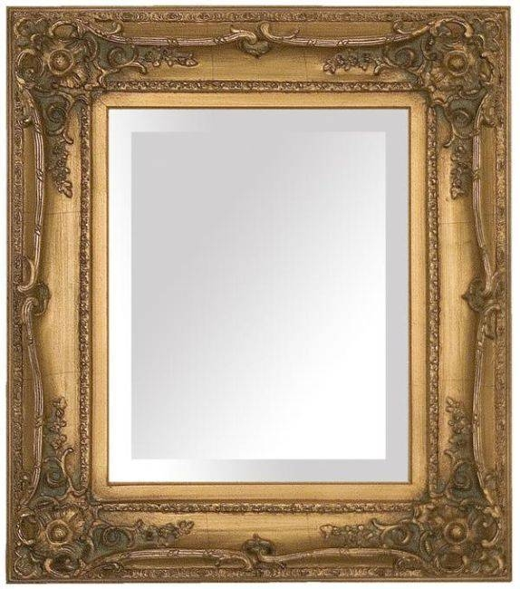 17 Best Mirrors Images On Pinterest | Mirror Mirror, Antique Regarding Vintage Gold Mirrors (#5 of 30)