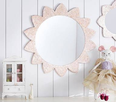 17 Best Mirrors Images On Pinterest | Mirror Mirror, Girls Bedroom In Large Pink Mirrors (#2 of 30)