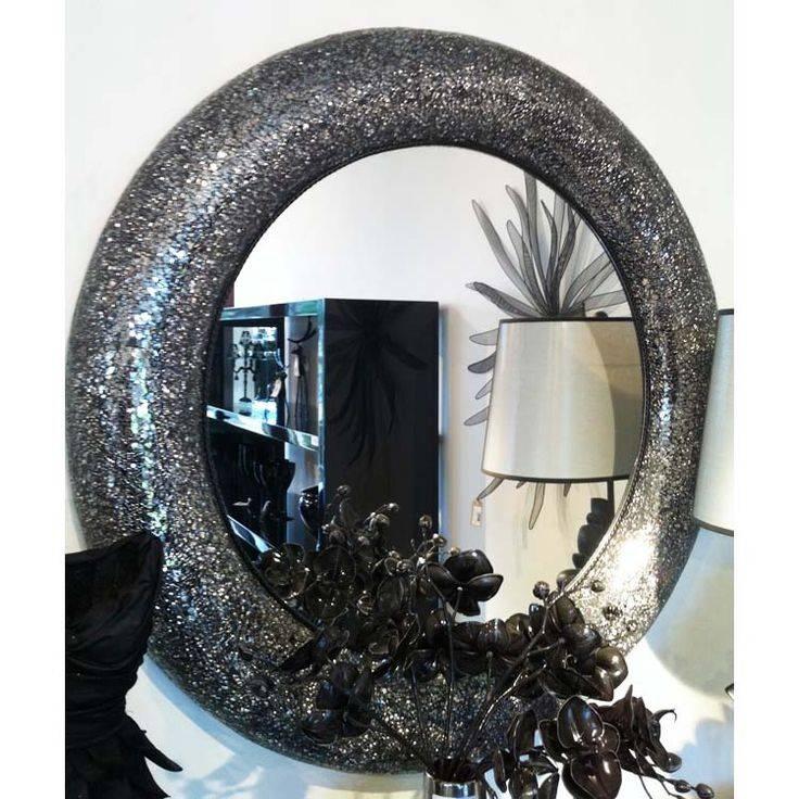 17 Best Mosaic Mirrors Images On Pinterest | Mosaic Mirrors Intended For Black Mosaic Mirrors (#2 of 30)