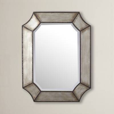 17 Stories Modern Bronze Wall Mirror & Reviews | Wayfair With Regard To Bronze Wall Mirrors (#1 of 20)