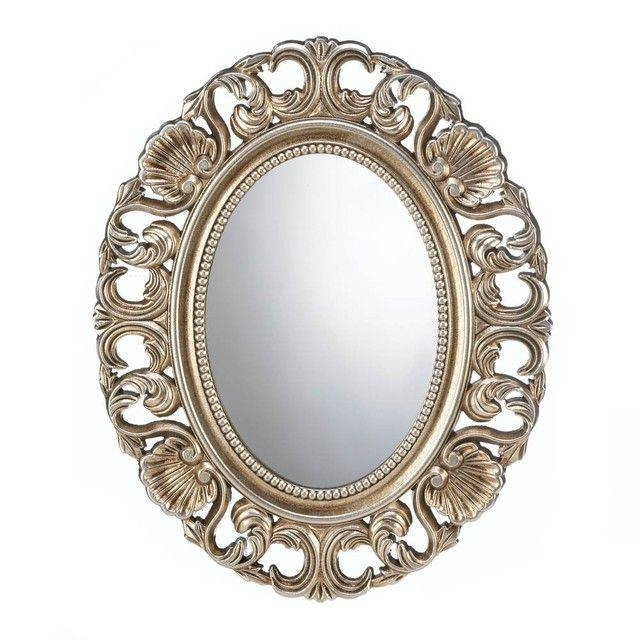 171 Best Decorative Mirrors Images On Pinterest | Decorative Within Oval Mirrors For Walls (View 13 of 20)