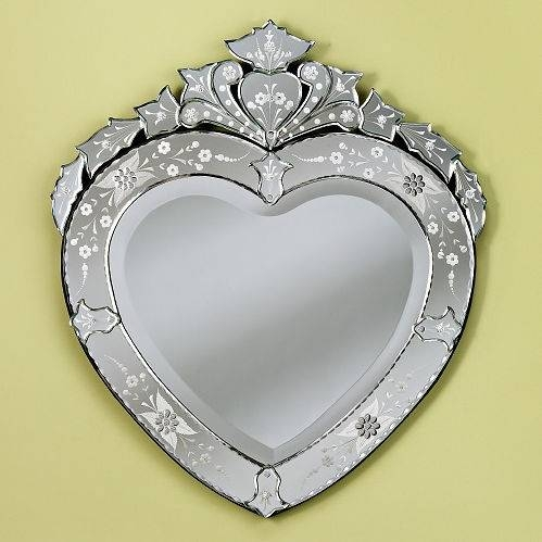 1730 Best Mirrors Images On Pinterest | Mirror Mirror, Mirrors And Throughout Venetian Heart Mirrors (#1 of 20)