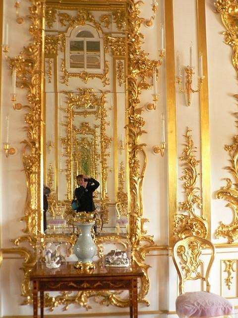 1730 Best Mirrors Images On Pinterest | Mirror Mirror, Mirrors And With Regard To Gold Baroque Mirrors (#3 of 30)