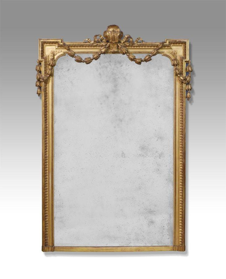 179 Best Antique Mirrors Images On Pinterest | Antique Mirrors Pertaining To Large Gold Antique Mirrors (#4 of 30)