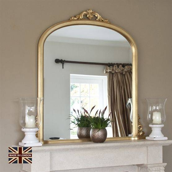 Inspiration about 18 Best All Glass Mirrors Images On Pinterest | Glass Mirrors Regarding Mantelpiece Mirrors (#19 of 30)