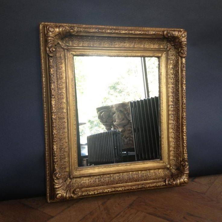 18 Best Antique Mirrors Images On Pinterest | Antique Mirrors Pertaining To Gilt Framed Mirrors (View 12 of 20)